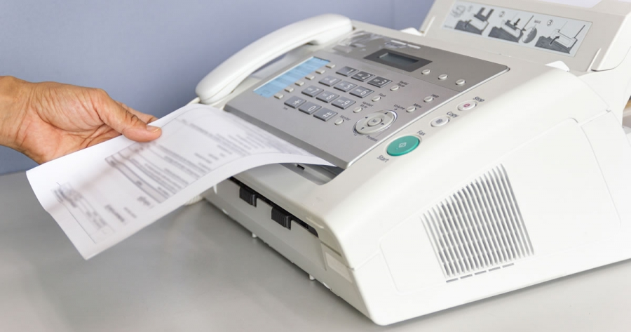 Is the fax machine still relevant?